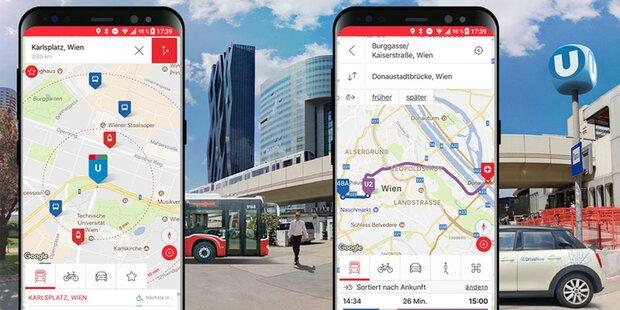 WienMobil-App bald mit neuen Features