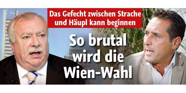 Wien-Wahl wird zum Krimi
