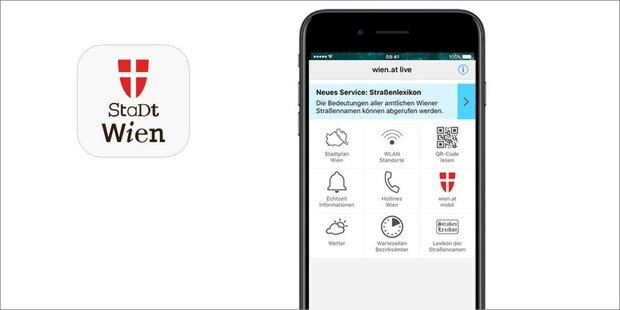 Neues Logo für wien.at live-App