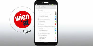 """Stadt Wien bringt """"wien.at""""-Top-App"""