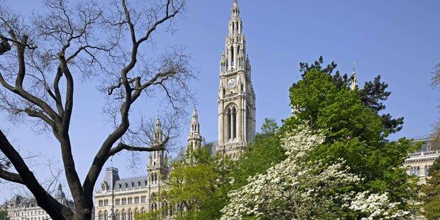 In Wien lebt es sich europaweit am besten