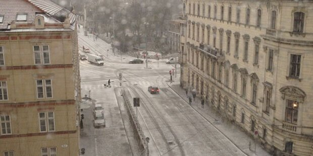 Der 1. April bringt Schnee