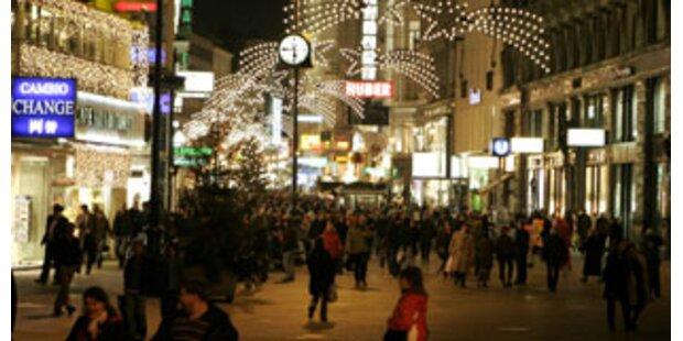 Startschuss für Shopping-Wahnsinn in Wien