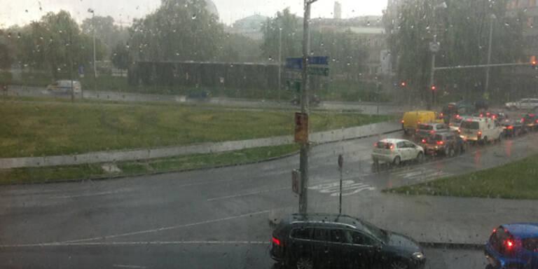 Unwetter zogen über Österreich