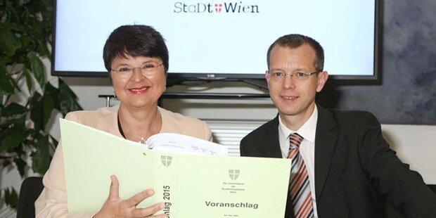 Wiener Budget 2015: Gezielte Investitionen für die Stadt