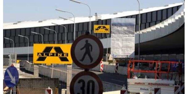 Baustopp am Flughafen Wien