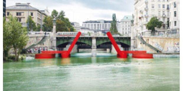 Donaukanal treibt es drei Tage sehr bunt