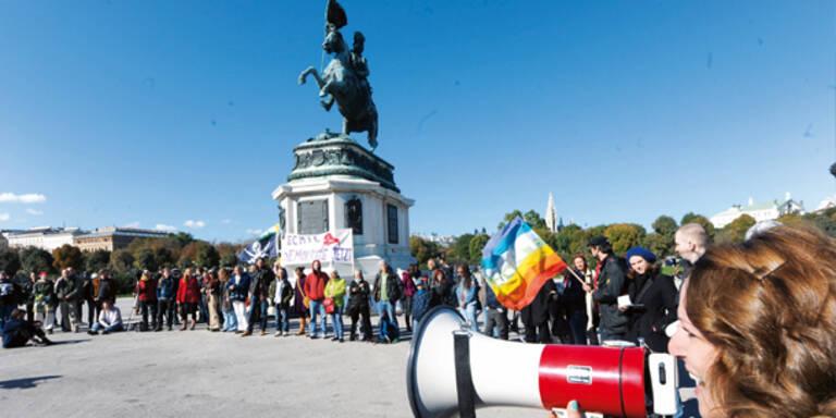 Wut-Demos gegen Banken