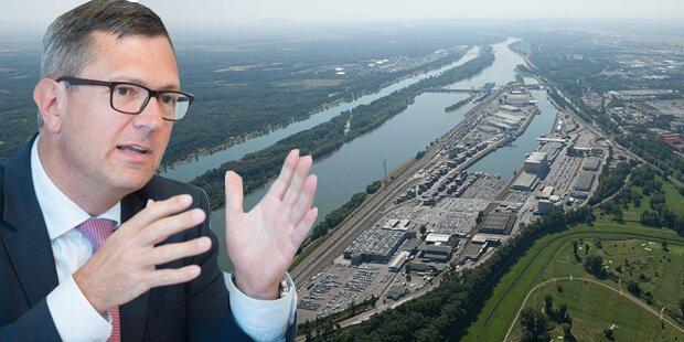 Wiener Hafen zog Rekordergebnis an Land