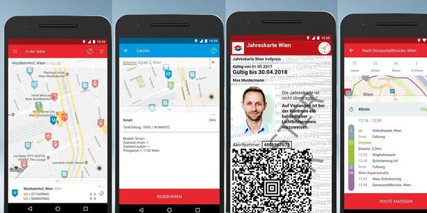 Geniale Mobilitäts-App für Wien ist da