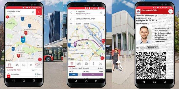 Großes Update für Wiener-Linien-App