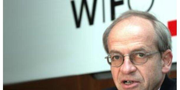Wifo sieht Wirtschaft langsamer wachsen