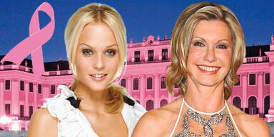 Stars bei Pink Ribbon-Gala