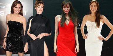Angelina Jolies sexy 'Salt'-Premierenlooks