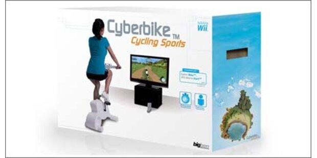 Fahrrad-Ergometer für die Wii-Konsole