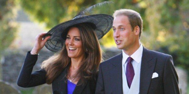 Prinz William und Kate Middleton sagen Ja