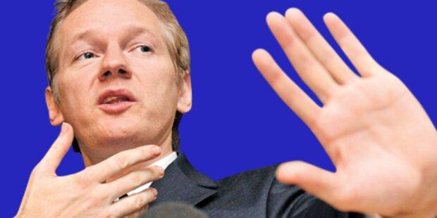 WikiLeaks-Chef vor der Verhaftung