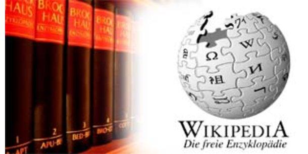 Wikipedia ist besser als der Brockhaus