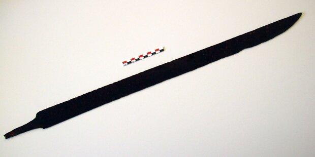 Wanderer findet 1.200 Jahre altes Wikinger-Schwert