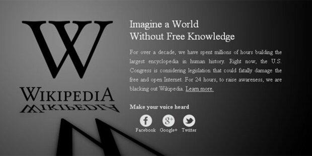 Offline: Wikipedia ließ Taten folgen