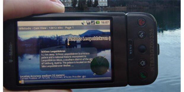 Neue Anwendung für Smartphones