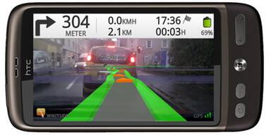 Erste Augmented Reality Navi-App startet