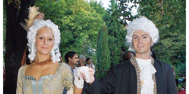 Barock-Trip im Garten für Aids-Hilfe Salzburg