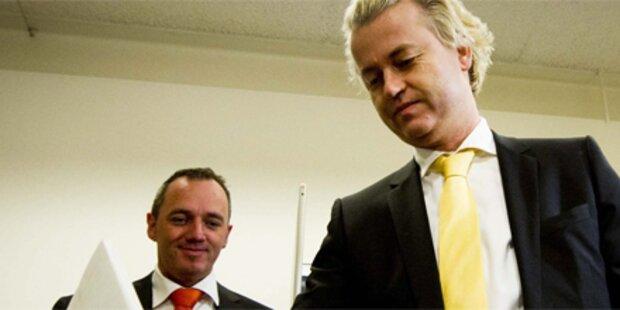 Geringe Wahlbeteiligung in den Niederlanden