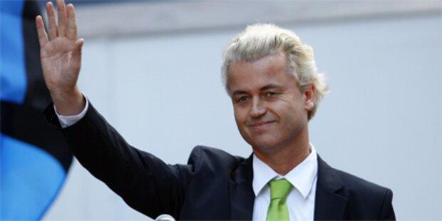 Wilders provoziert mit Mohammed-Spot