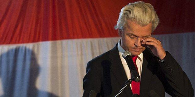 Holland-Wahl: Debakel für Euro-Feind Wilders