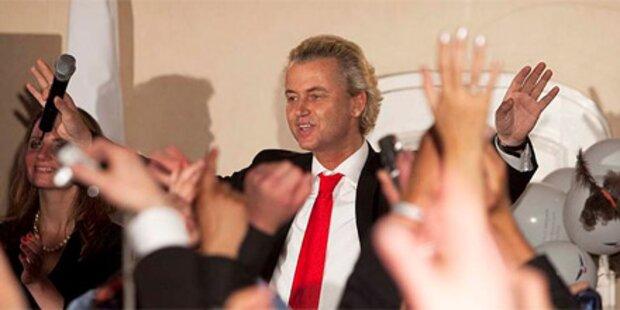 Wilders unterstützt