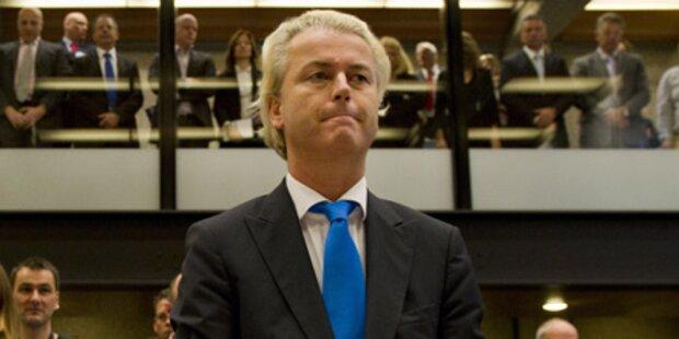 Prozess gegen Wilders unterbrochen