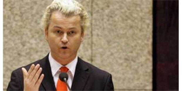 Geldstrafe für Wilders wegen Anti-Islam-Film