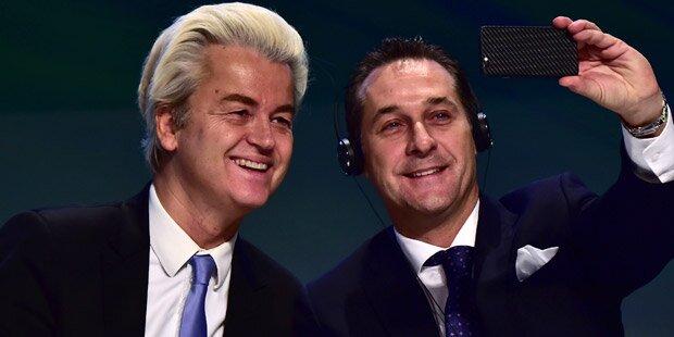 Wegen Rede bei FPÖ-Treffen: Ermittlungen gegen Wilders