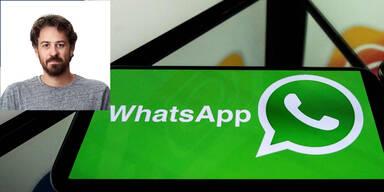 """WhatsApp-Chef: """"Das betrifft uns alle"""""""