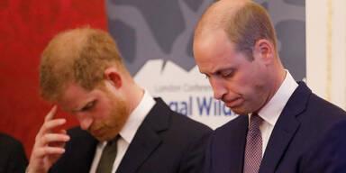 William & Harry: Versöhnung an Opa Philips Grab?