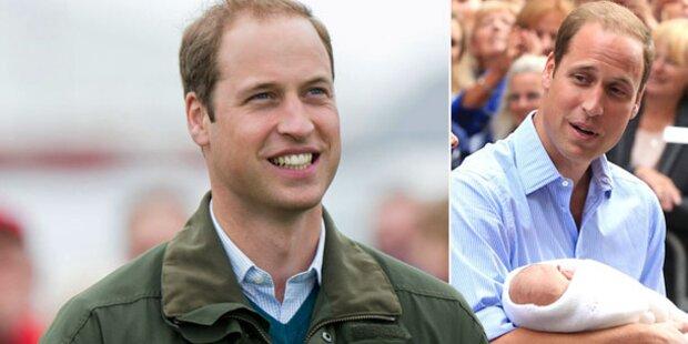 William: George ist kleiner