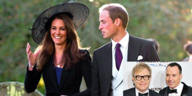 Elton John ist nicht zur Hochzeit geladen
