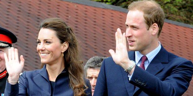 Prinz William und Kate besuchen das Taj Mahal