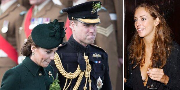 Kate: Hat William sie mit ihrer Freundin betrogen?