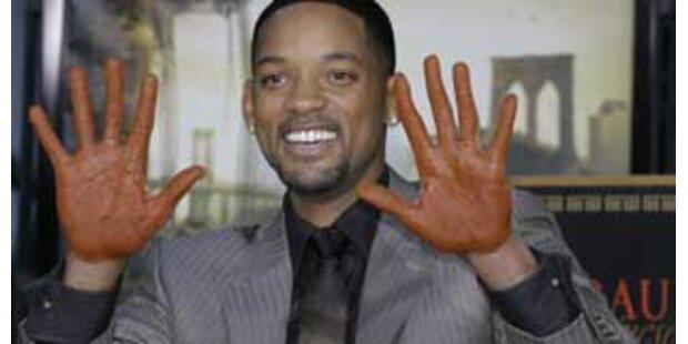 Will Smith erhielt Stern am Hollywood Walk of Fame