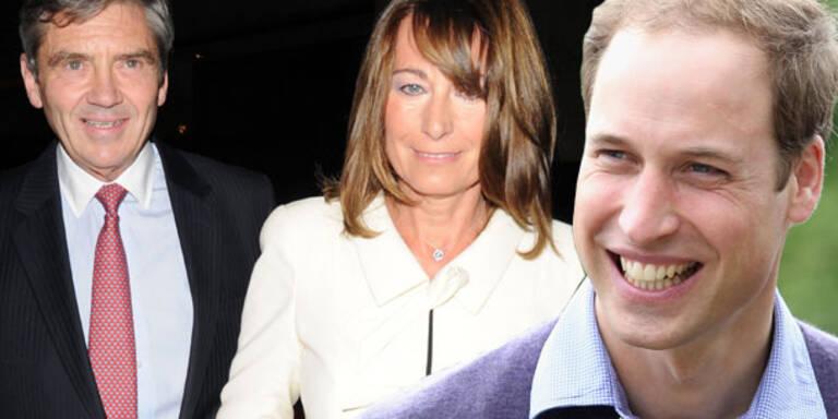 William gibt Middletons Geld für Luxus-Villa
