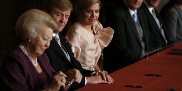 Willem-Alexander ist neuer König
