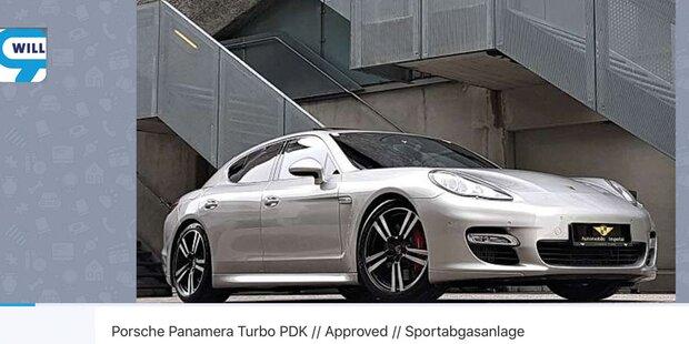 Porsche von Ex-Top-Kicker auf willhaben