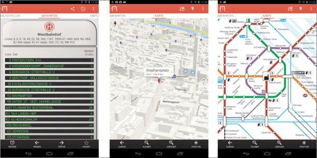 Willi-App zeigt Wiener Öffis in Echtzeit an