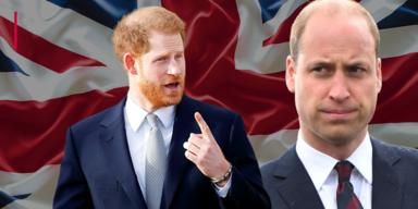 William vs. Harry: Der Bruch der Brüder