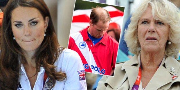 Camilla fordert Perücke für Prinz William