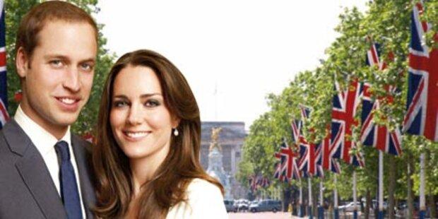 Auf den Spuren von Kate und William