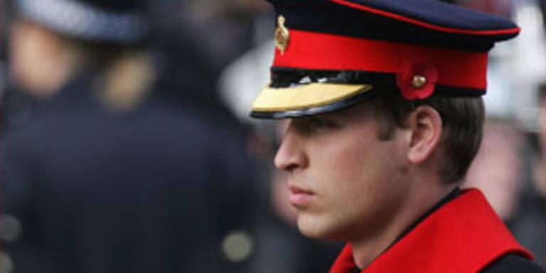 Prinz William hat zwei weibliche Bodyguards