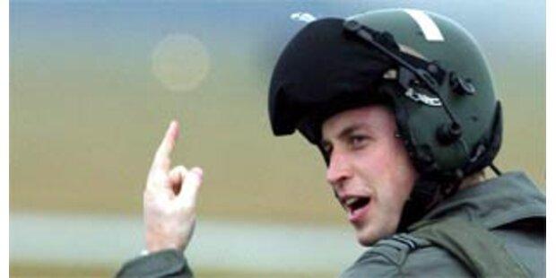 Prinz William wird Journalist